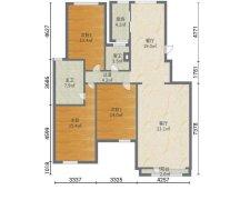 █文昌片领秀城 电梯花园洋房2楼150平  精装未住 带小房